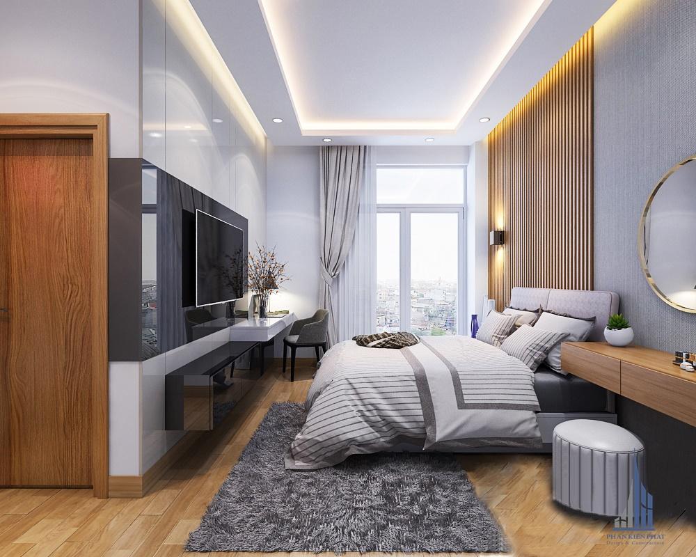 Phòng ngủ master sang trọng, tiện nghi
