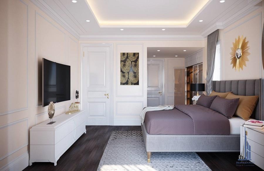 Phòng ngủ master view 2
