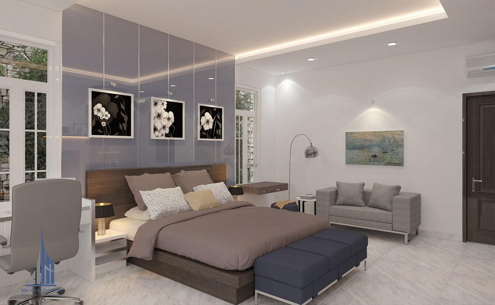 Phòng ngủ sang trọng, hiện đại view 2