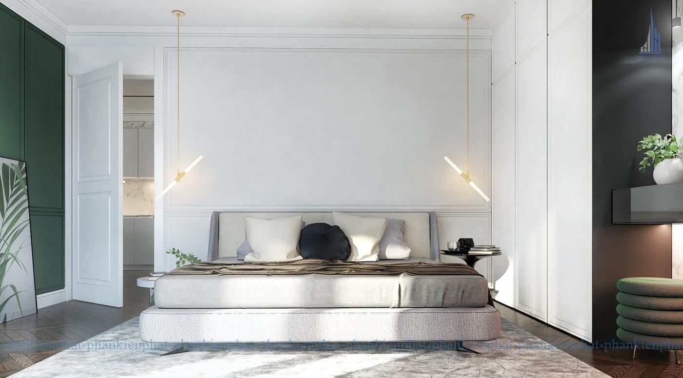 Phòng ngủ được thiết kế sang trọng tiện nghi view 2