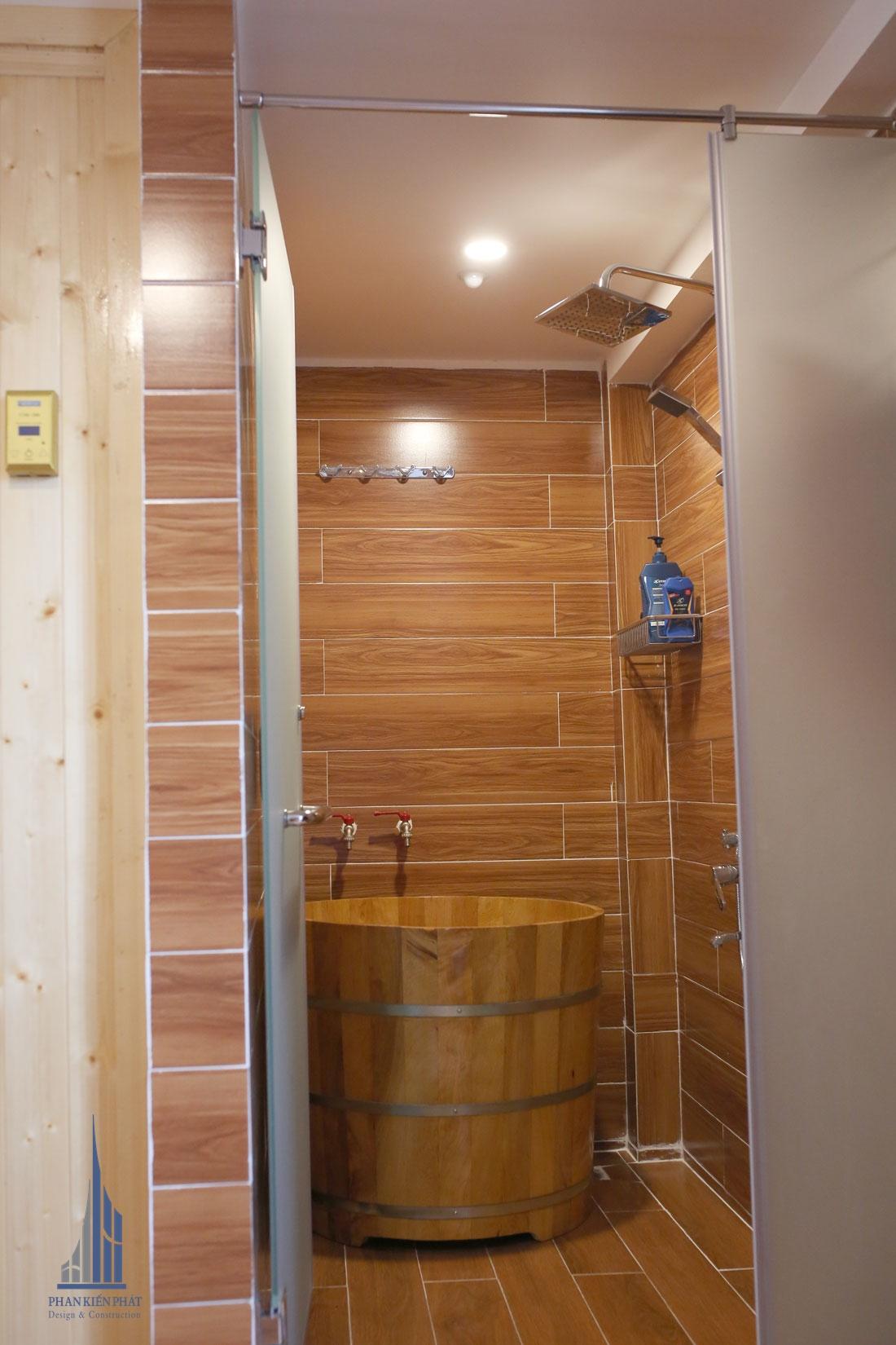 Phòng Tắm Bồn Cổ Điển tạo cảm giác thoải mái, thư giản