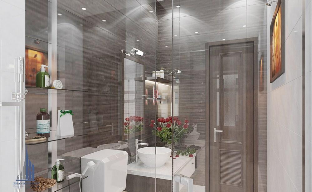 Phòng vệ sinh được thiết kế độc đáo, thẩm mỹ view 1