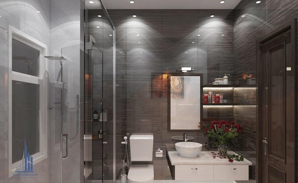 phòng vệ sinh được thiết kế động đáo, thẩm mỹ view 2