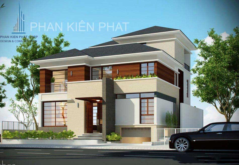 Công trình, Thiết kế xây dựng biệt thự, Anh Phan Cao Minh Thành