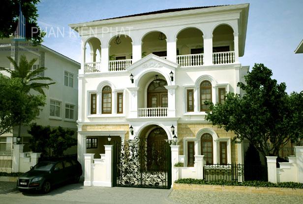 Công trình, Thiết kế xây dựng biệt thự, Anh Lê Thế Sang