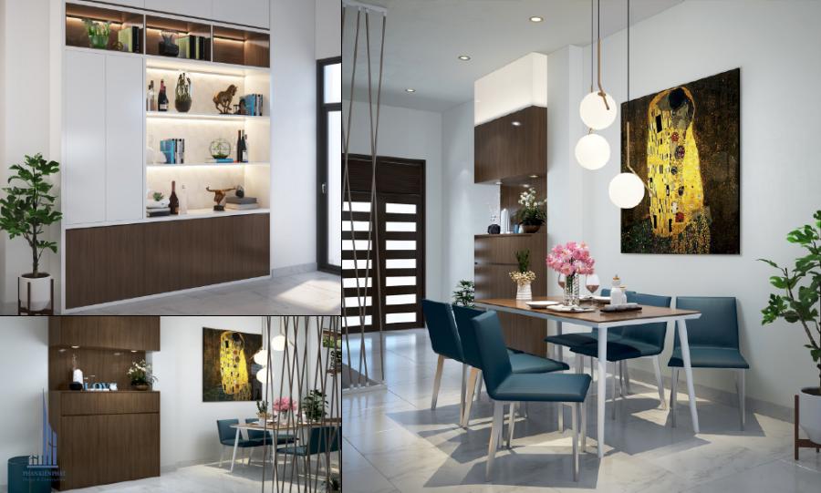 Nội thất, thiết kế nội thất căn hộ chung cư, Chị Ngọc Anh