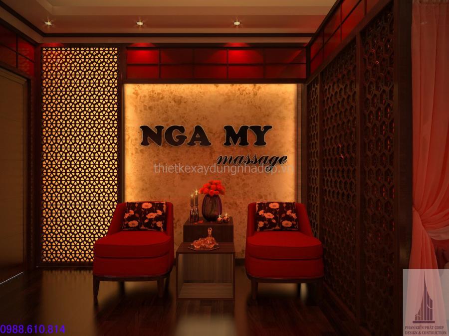 Nội thất, Nội thất căn hộ chung cư, Nga My Massage