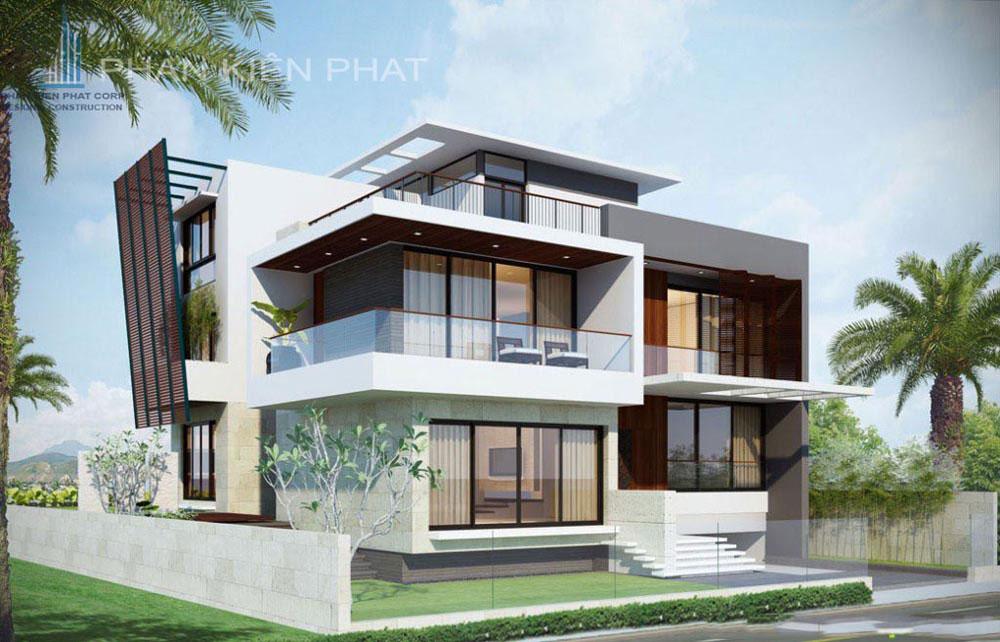 Công trình, Thiết kế xây dựng biệt thự, Anh Cao Thế Sang