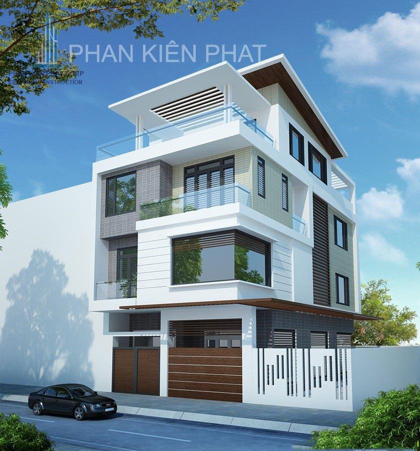 Công trình, Thiết kế xây dựng biệt thự, Anh Lê Quang Minh Trí
