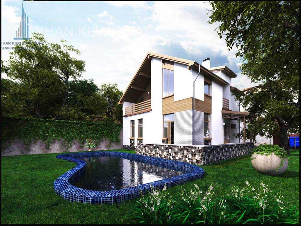 Công trình, Thiết kế xây dựng biệt thự, Anh Lê Ngọc Huy