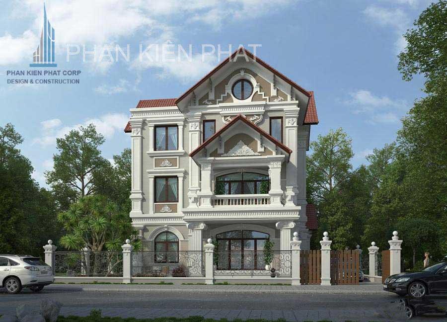 Công trình, Thiết kế xây dựng biệt thự, Chị Nguyễn Thị Thu Phương