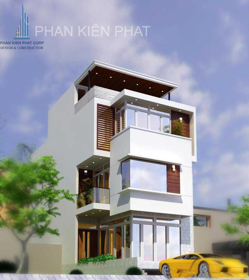 Công trình, Thiết kế xây dựng biệt thự, Anh Nguyễn Nhật Anh Long