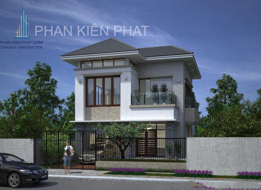 Công trình, Thiết kế xây dựng biệt thự, Anh Lê Ngọc Trí
