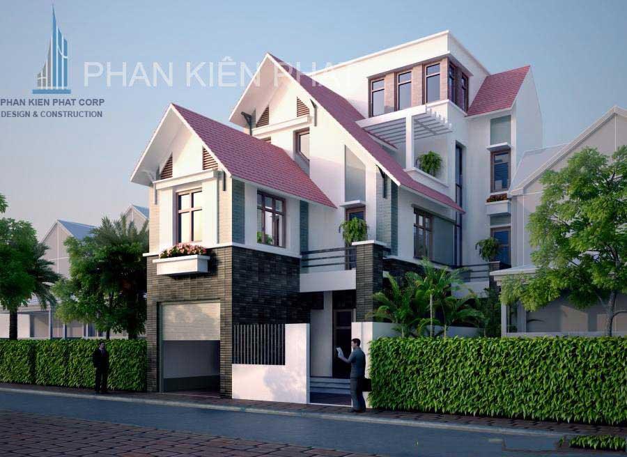 Công trình, Thiết kế xây dựng biệt thự, Anh Nguyễn Lâm Thế Hào
