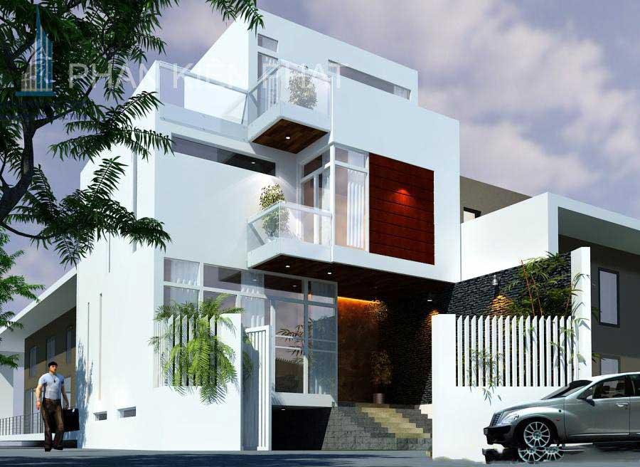 Công trình, Thiết kế xây dựng biệt thự, Anh Lưu Thế Ngọc Châu