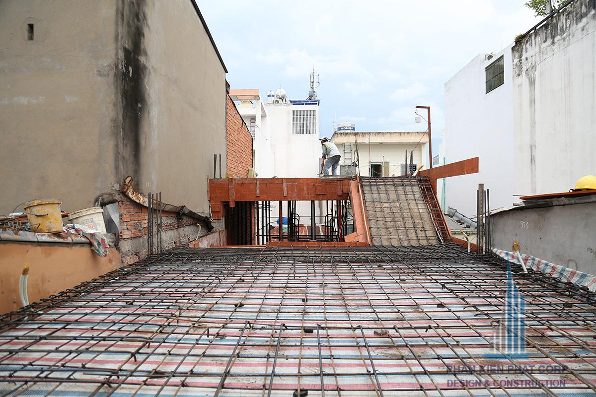 Tổng quan sắt sàn tầng 1