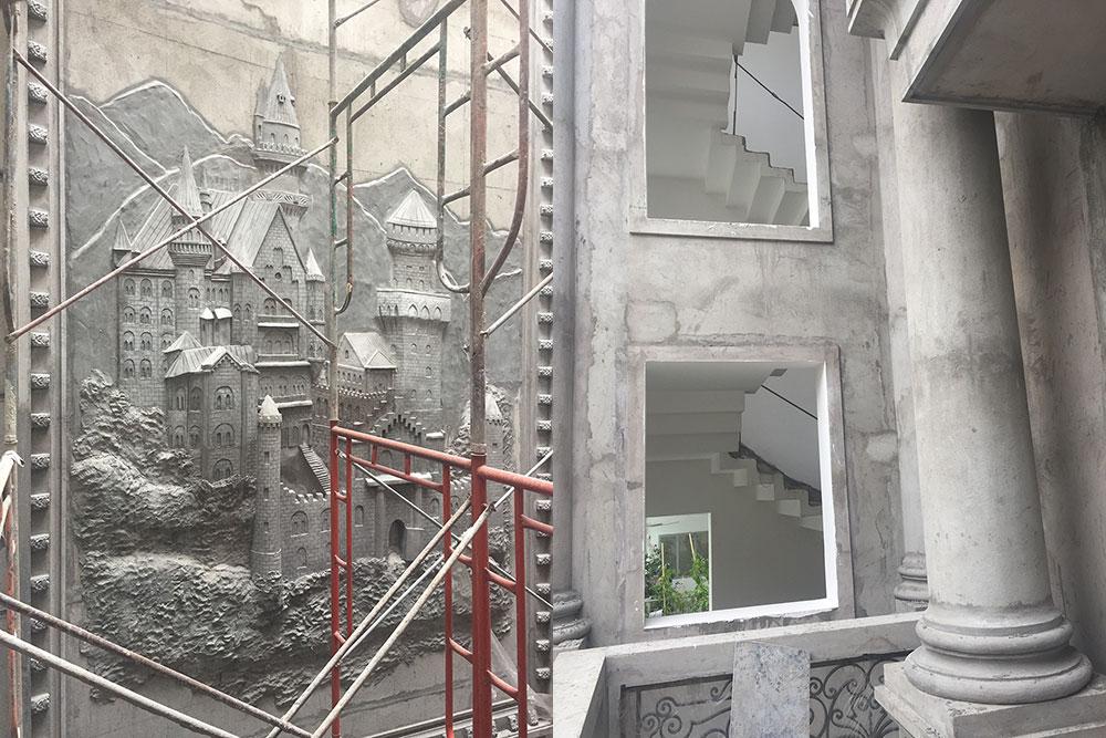 Tường trang trí