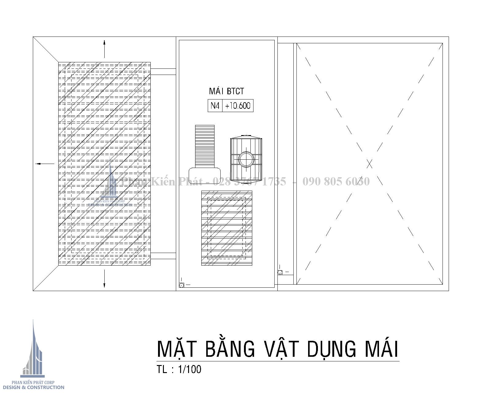 Mat Bang Mai Biet Thu Pho Hien Dai Binh Phuoc Tkxn