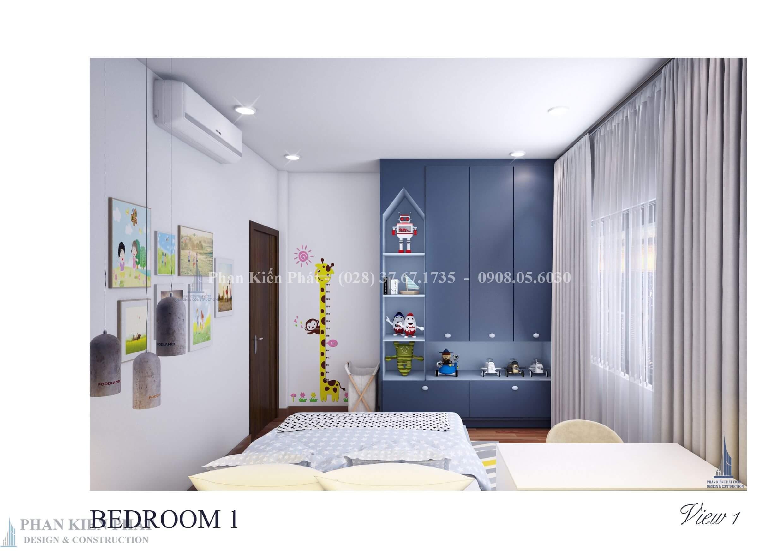 Noi That Phong Ngu 1 View 2 - Mẫu nhà phố 3 tầng