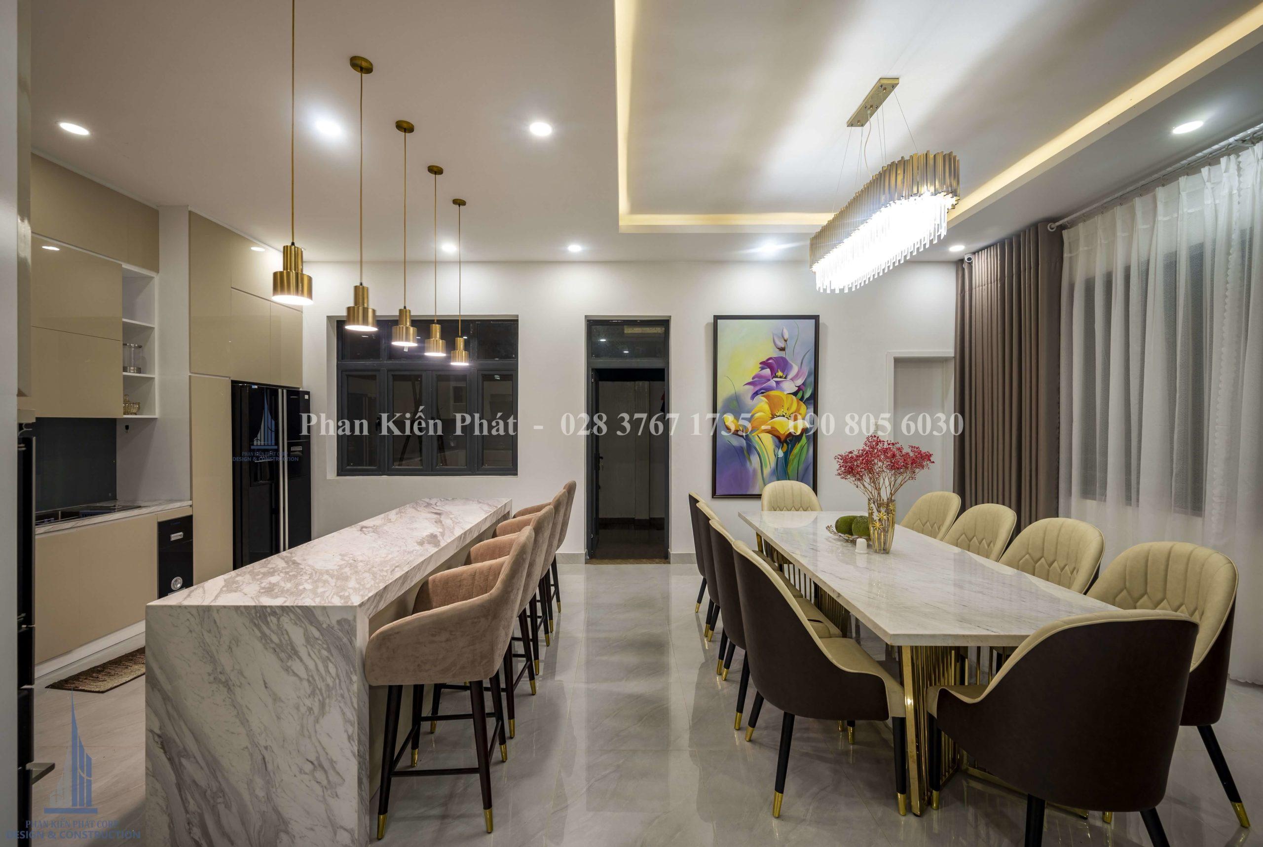 Hoan Thanh Thi Cong Noi That Biet Thu Hien Dai 2 Tkxdnd