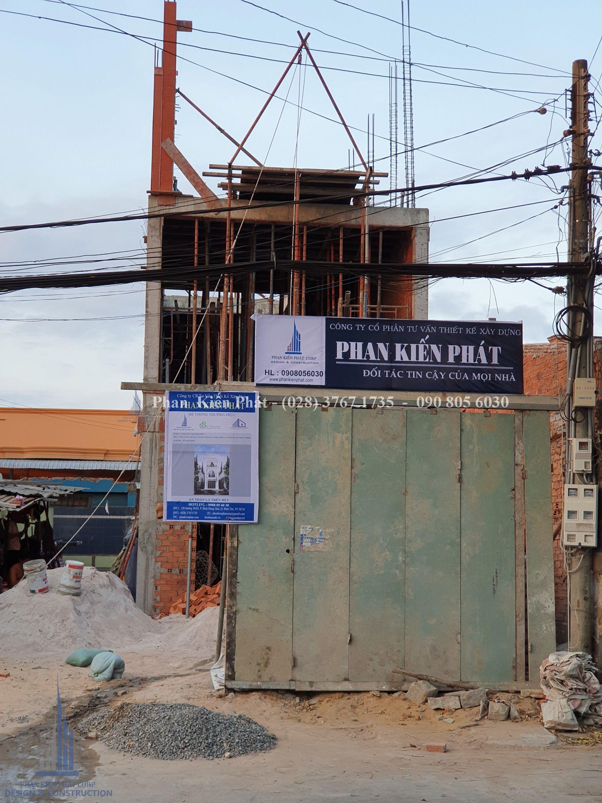 Thi Cong Nha Pho Co Dien Dep Tại Phan Thiet 9 Tkxd