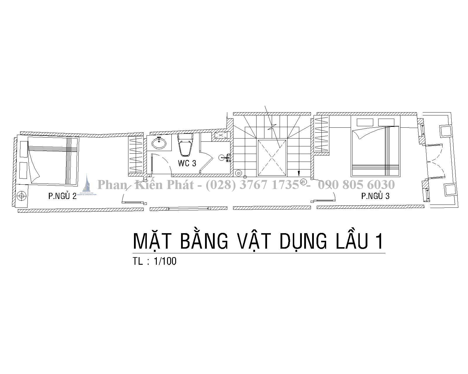 Mat Bang Lau 1 Mau Nha Ong 1 Tret 1lung 3 Lau Hien Dai Anh Tan Dinh 1