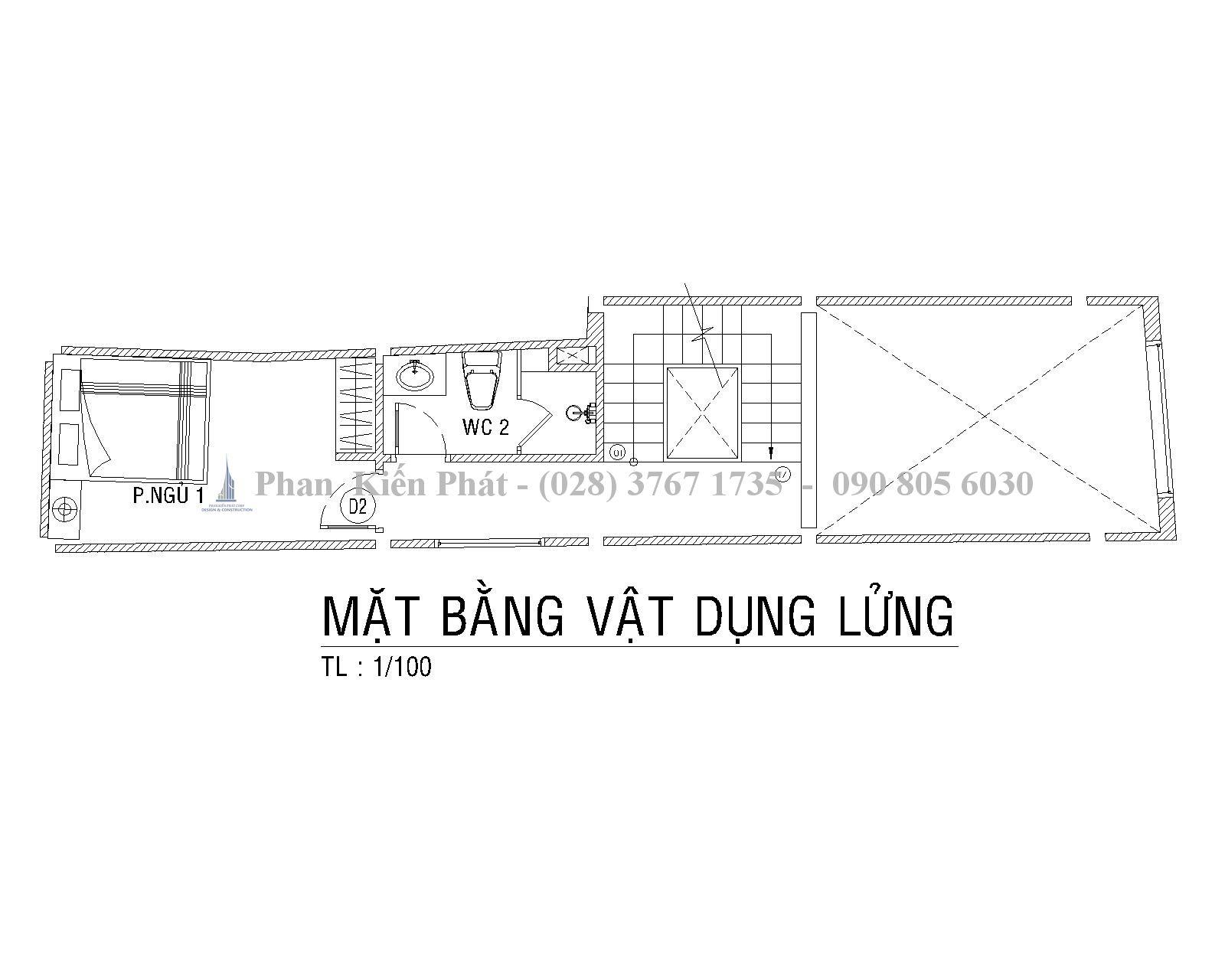 Mat Bang Lung Mau Nha Ong 1 Tret 1lung 3 Lau Hien Dai Anh Tan Dinh 1