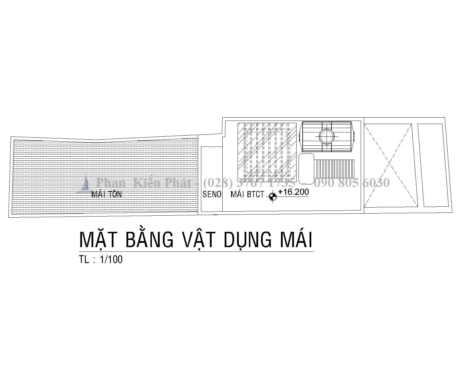 Mat Bang Mai Mau Nha Ong 1 Tret 1lung 3 Lau Hien Dai Anh Tan Dinh 1
