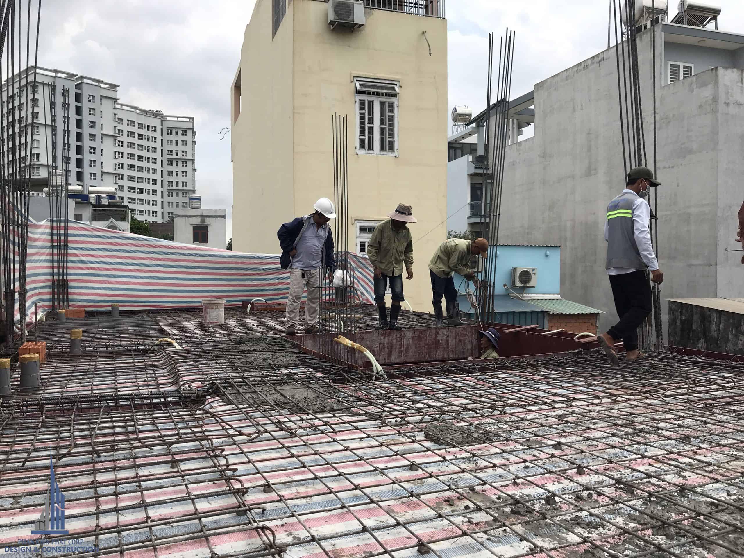 Thi công trọn gói nhà phố tại Lê Đức Thọ - Gò Vấp